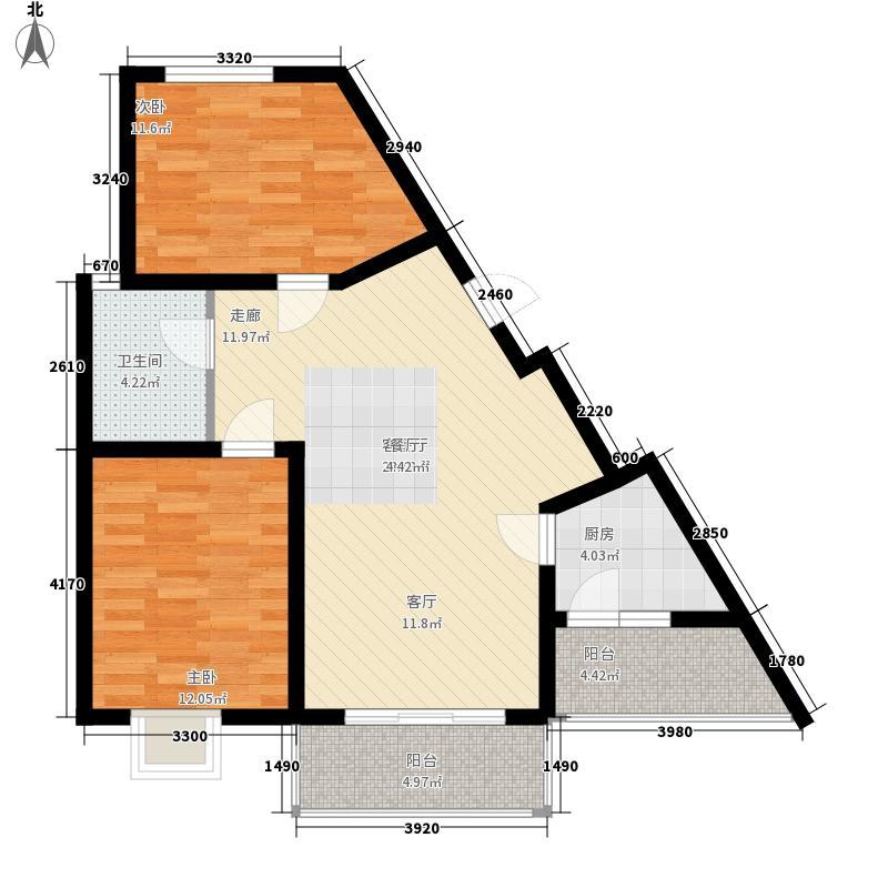 智慧龙城三期84.06㎡智慧龙城三期户型图8C户型2室2厅1卫1厨户型2室2厅1卫1厨