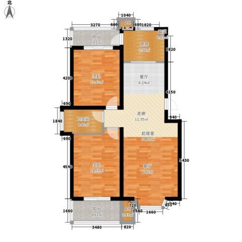 新安家园2室0厅1卫1厨94.00㎡户型图
