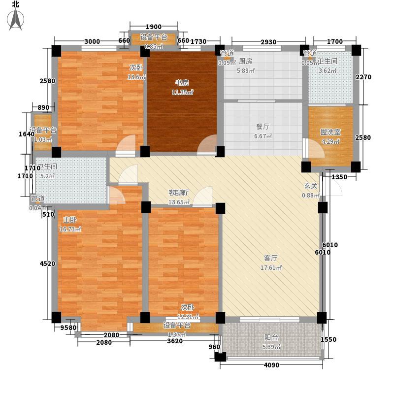 南都花园180.00㎡南都花园户型图4室户型图4室2厅2卫1厨户型4室2厅2卫1厨