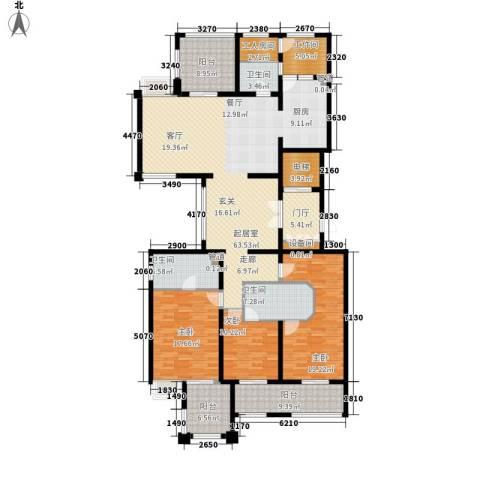 龙湖佘山公馆3室0厅3卫0厨195.00㎡户型图