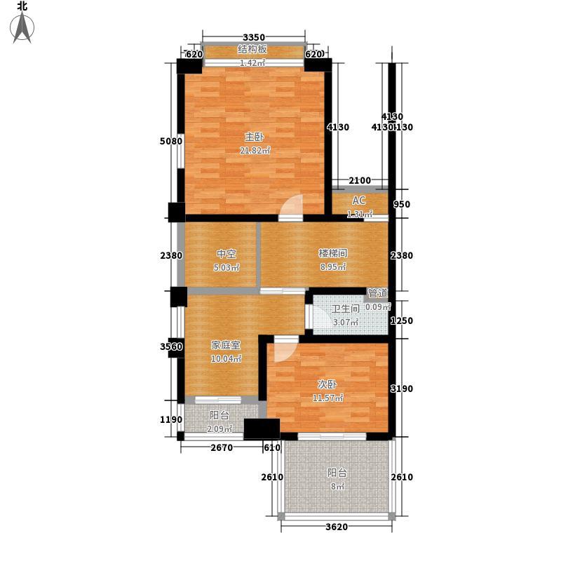 海上普罗旺斯120.00㎡户型3室2厅2卫