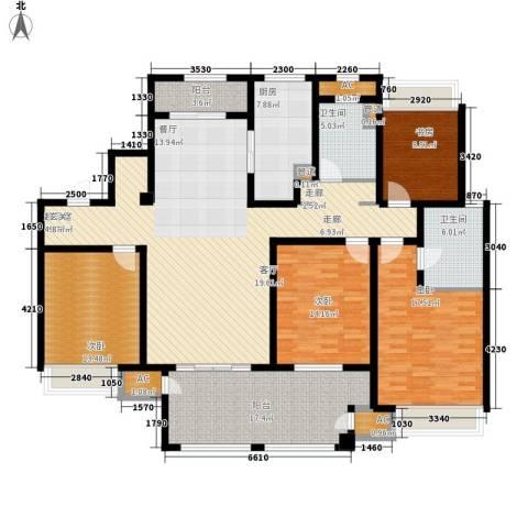 武进吾悦广场4室0厅2卫1厨170.00㎡户型图