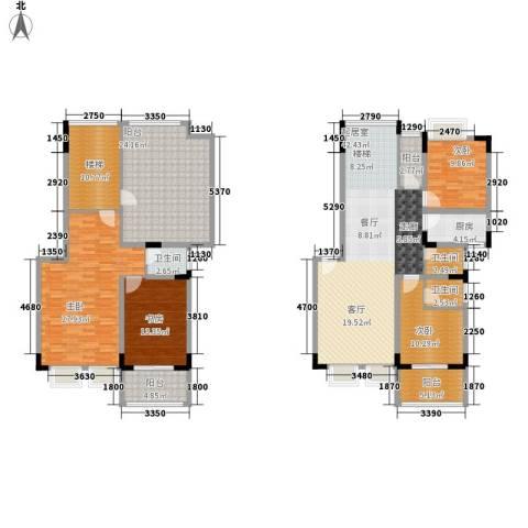 珠海易筑4室0厅3卫1厨230.00㎡户型图