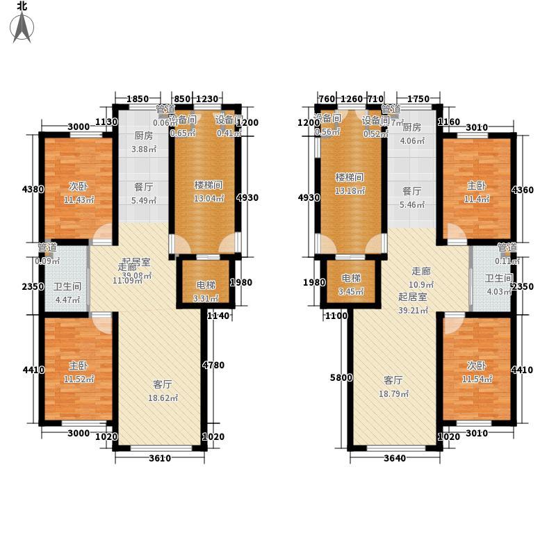 文龙家园93.00㎡文龙家园户型图H户型图2室2厅1卫户型2室2厅1卫