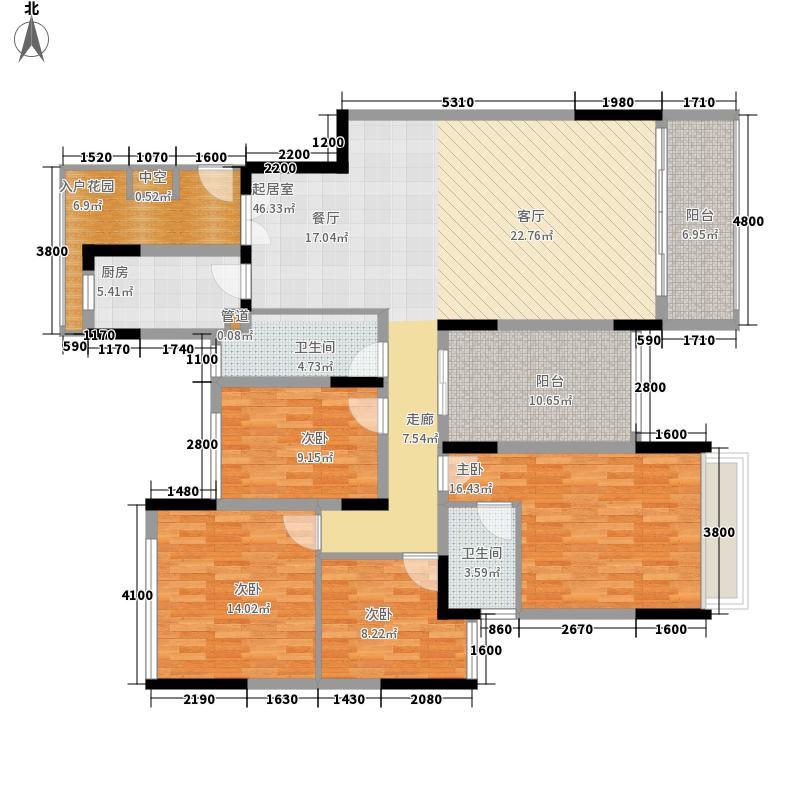 家和花园深圳家和花园户型图6户型10室