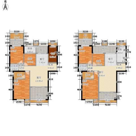 ECO城7室0厅2卫2厨226.82㎡户型图
