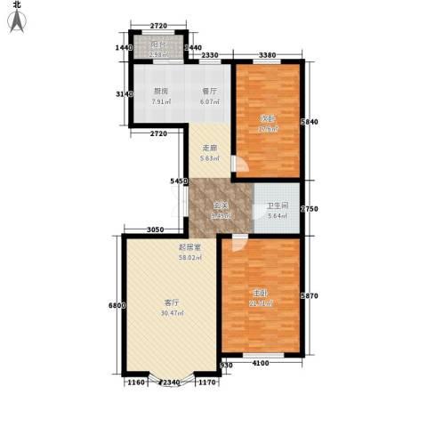 安华美域2室0厅1卫0厨118.10㎡户型图