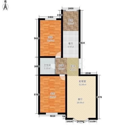安华美域2室0厅1卫0厨106.17㎡户型图