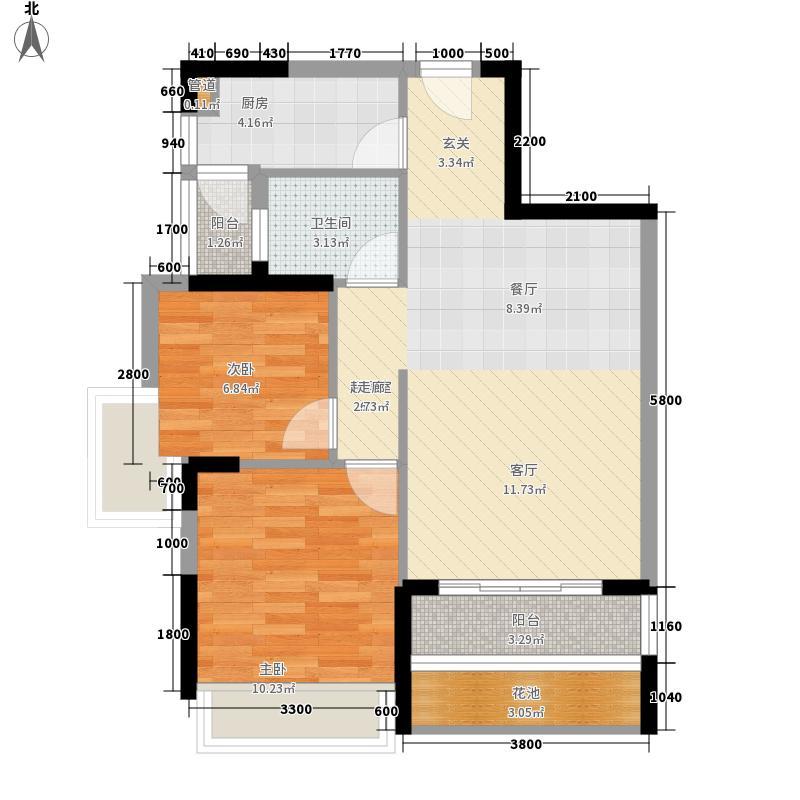 梅花山庄430.00㎡梅花山庄7室户型7室
