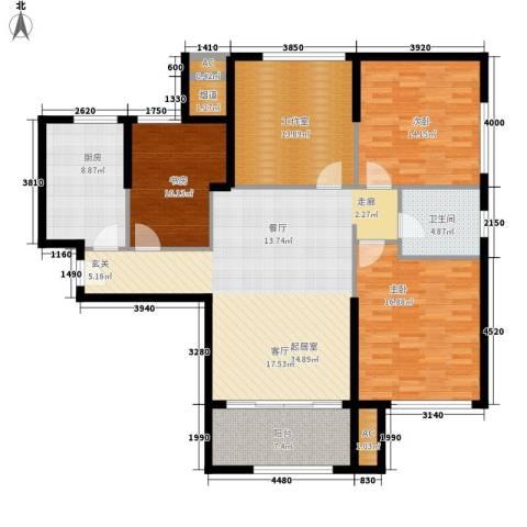 熙悦春天3室0厅1卫1厨129.00㎡户型图