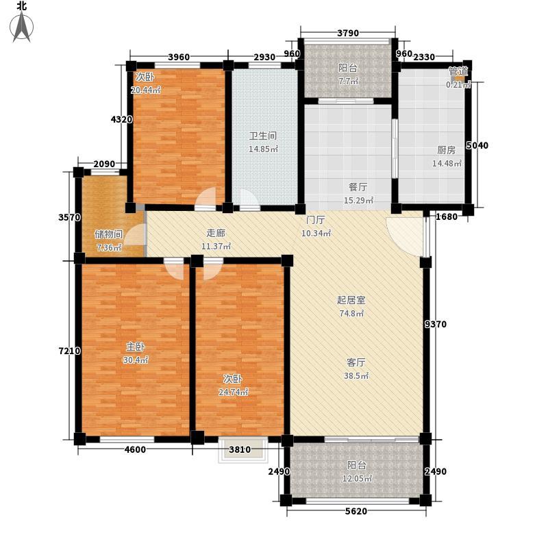 康河郦景二期232.00㎡康河郦景二期232.00㎡5室户型5室