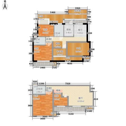 义和故事水云涧4室0厅3卫1厨173.00㎡户型图