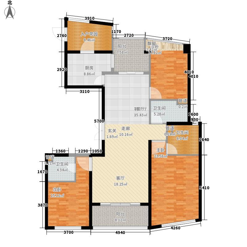 保利达江湾城166.16㎡保利达江湾城户型图10D户型3室2厅3卫户型3室2厅3卫