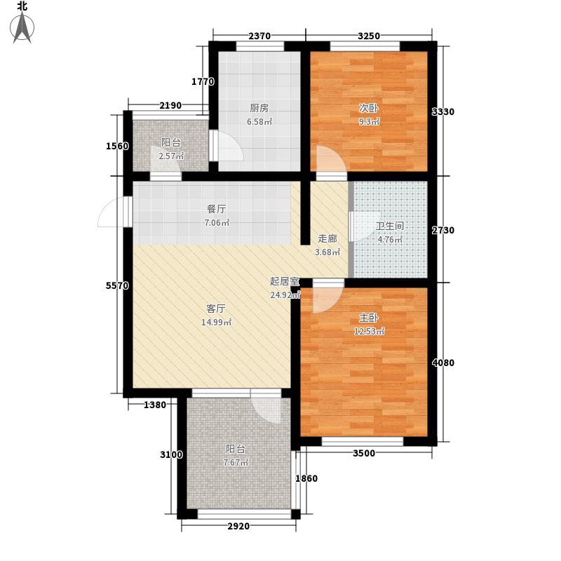 盛世・园田居78.39㎡盛世・园田居户型图E5户型2室2厅1卫1厨户型2室2厅1卫1厨