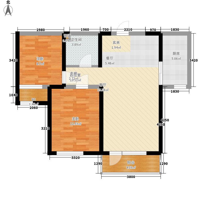 泰荣湾泰荣湾两室两厅户型10室