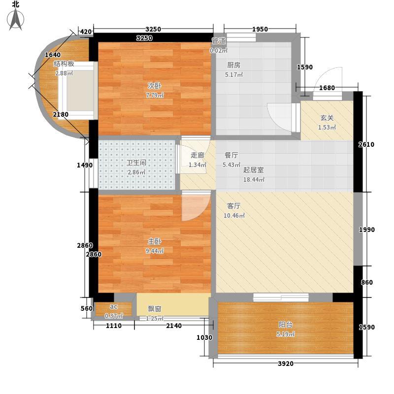 银晖名居银晖名居户型图户型图2室2厅1卫1厨户型2室2厅1卫1厨