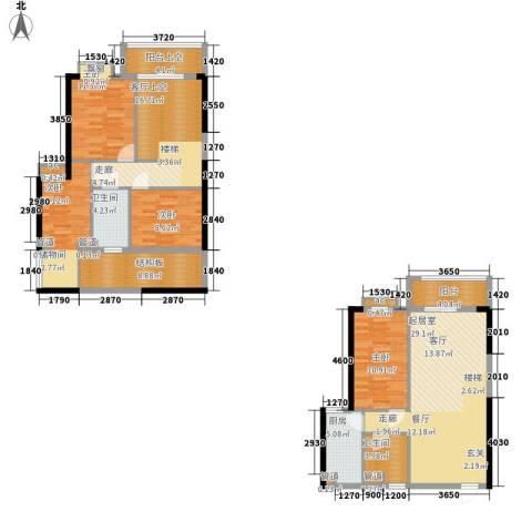 星御翠园4室0厅2卫1厨118.83㎡户型图