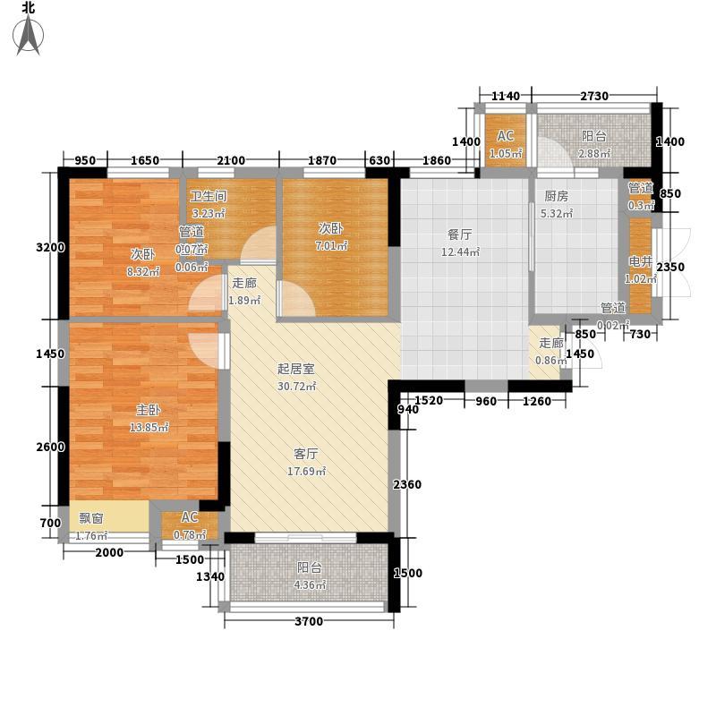 恒大世家公馆116.74㎡恒大世家公馆户型图6#楼1单元D户-3室2厅1厨1卫-116.74㎡3室2厅1卫1厨户型3室2厅1卫1厨
