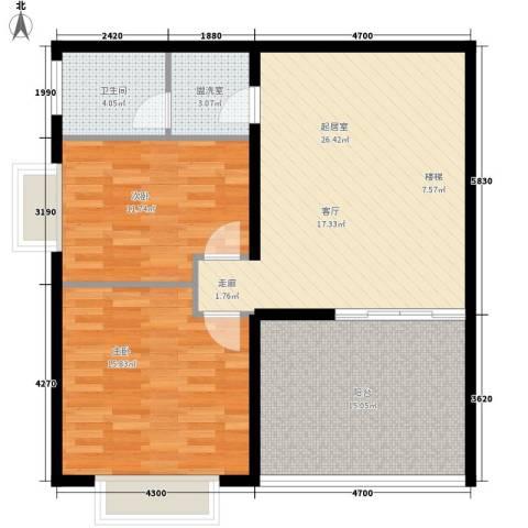汇统花园2室0厅1卫0厨177.00㎡户型图