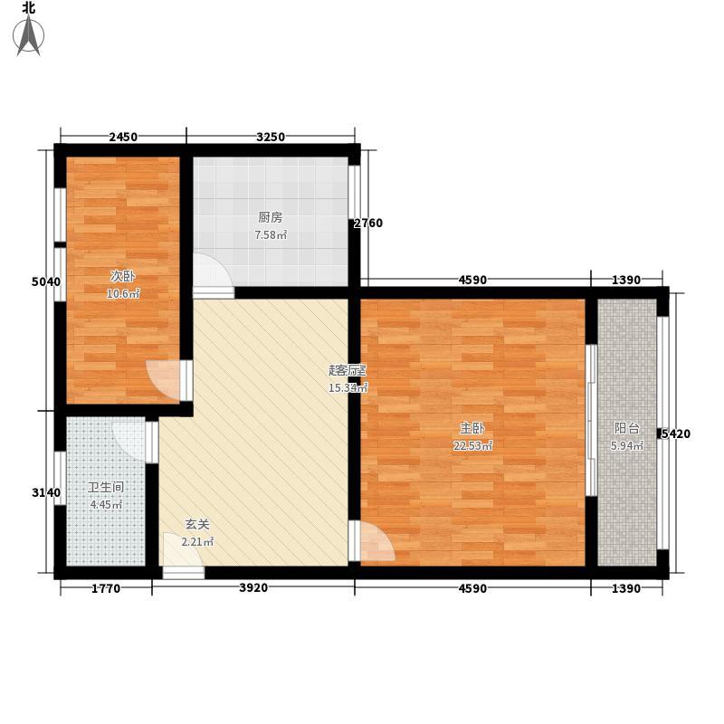 阳光华城79.00㎡阳光华城户型图2室户型图2室1厅1卫1厨户型2室1厅1卫1厨