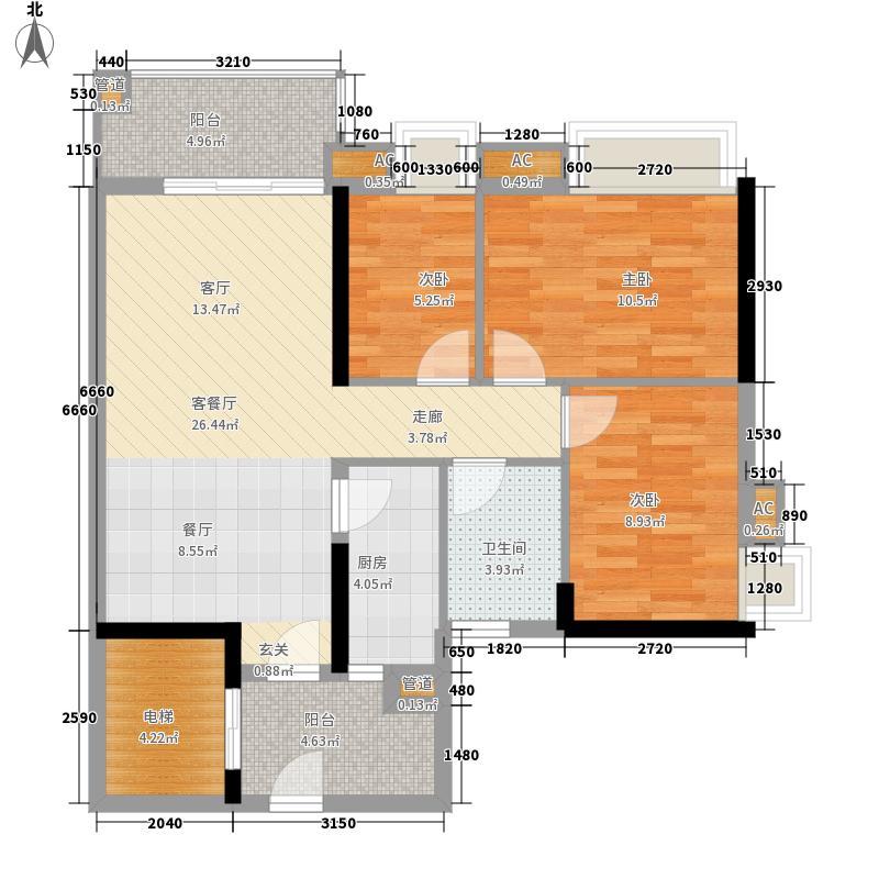 珠江嘉园11栋B梯05单位户型