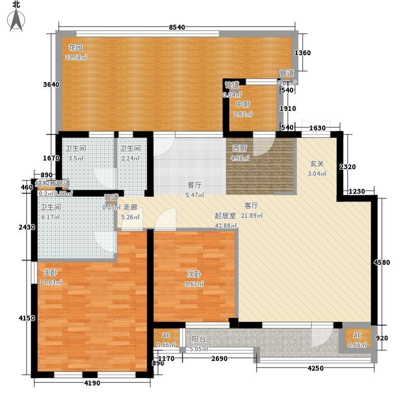 领秀新硅谷112.00㎡情景洋房5F户面积11200m户型