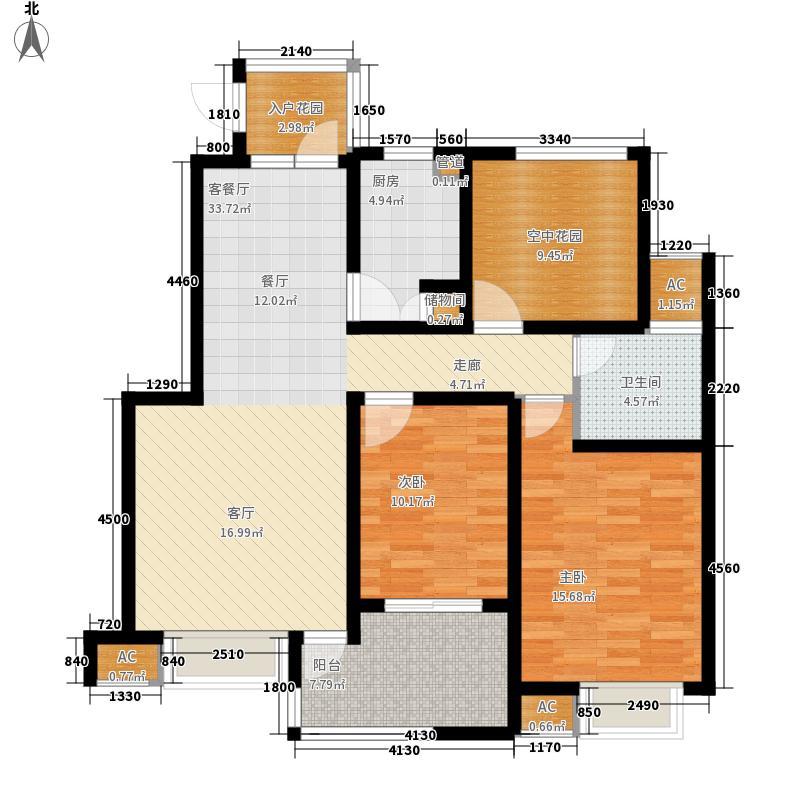 香城颐园108.00㎡香城颐园户型图12#D户型3室2厅1卫1厨户型3室2厅1卫1厨