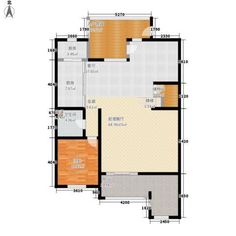 龙湖·花盛香醍1室0厅1卫2厨286.00㎡户型图