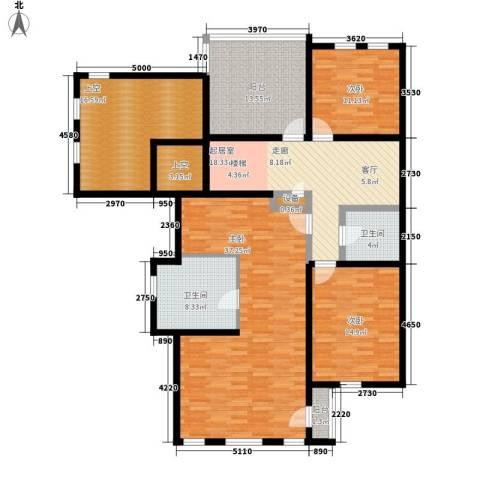 龙湖·花盛香醍3室0厅2卫0厨184.00㎡户型图