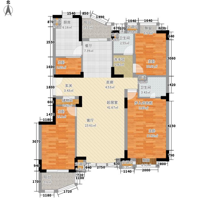 现代雅苑133.21㎡现代雅苑户型10室