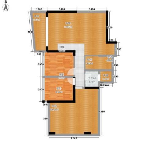 大学印象2室0厅1卫0厨127.00㎡户型图