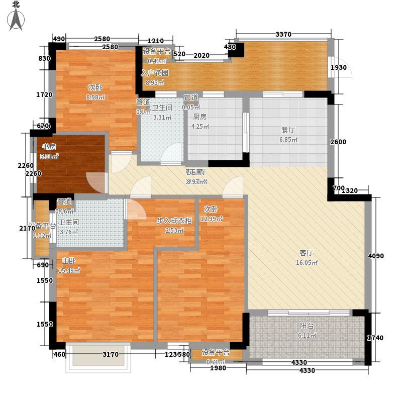 水悦云天水悦云天户型图04户型118㎡三房二厅二卫一厨户型10室