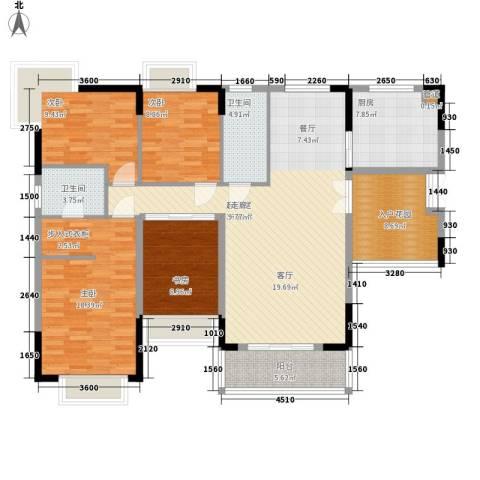 优山美地(别墅)4室0厅2卫1厨161.00㎡户型图