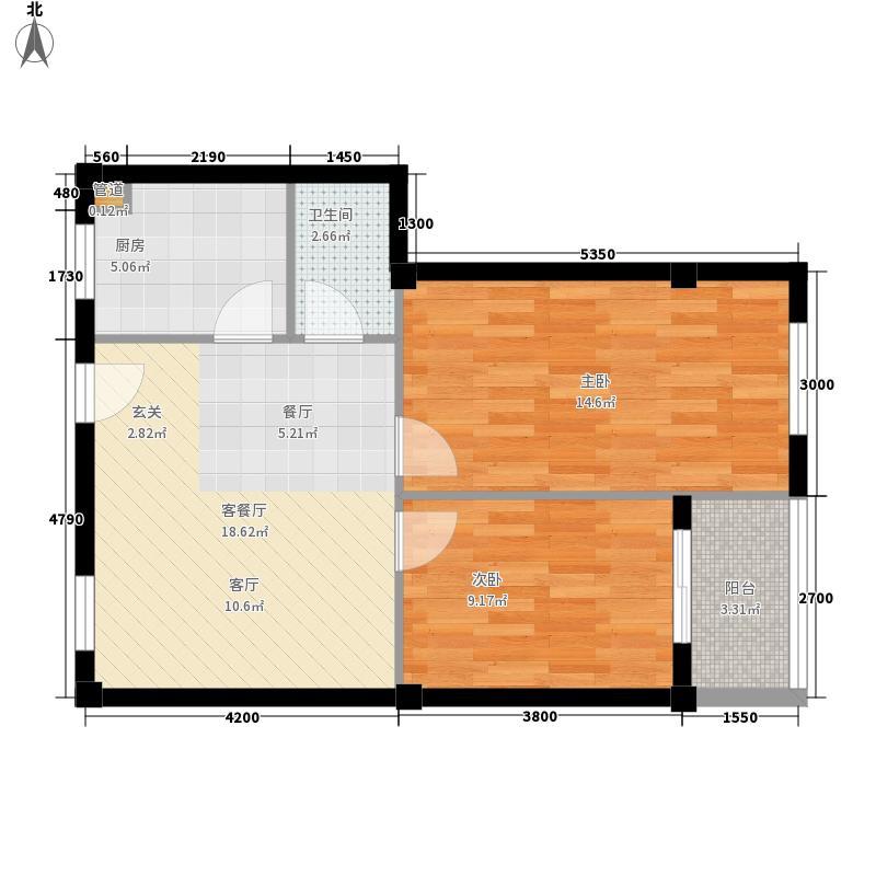 珉华雅苑珉华雅苑户型图户型6F-9建筑面积:71.47平米2室1厅1卫1厨户型2室1厅1卫1厨