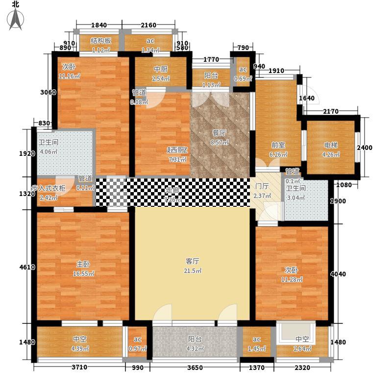 领秀新硅谷150.00㎡1#3F、4#3-4面积15000m户型