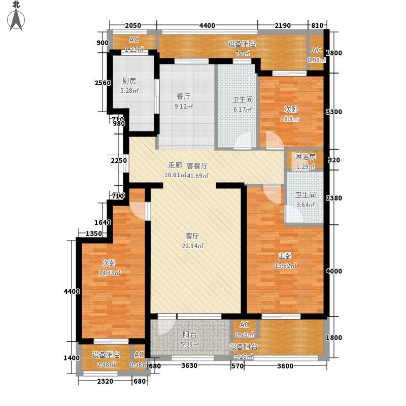 绿城沈阳全运村绿城沈阳全运村户型图b1户型3室3厅3卫户型3室3厅3卫