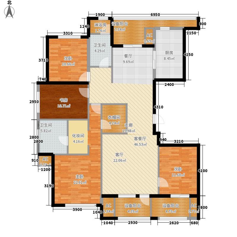 绿城沈阳全运村绿城沈阳全运村户型图dd户型4室2厅2卫户型4室2厅2卫