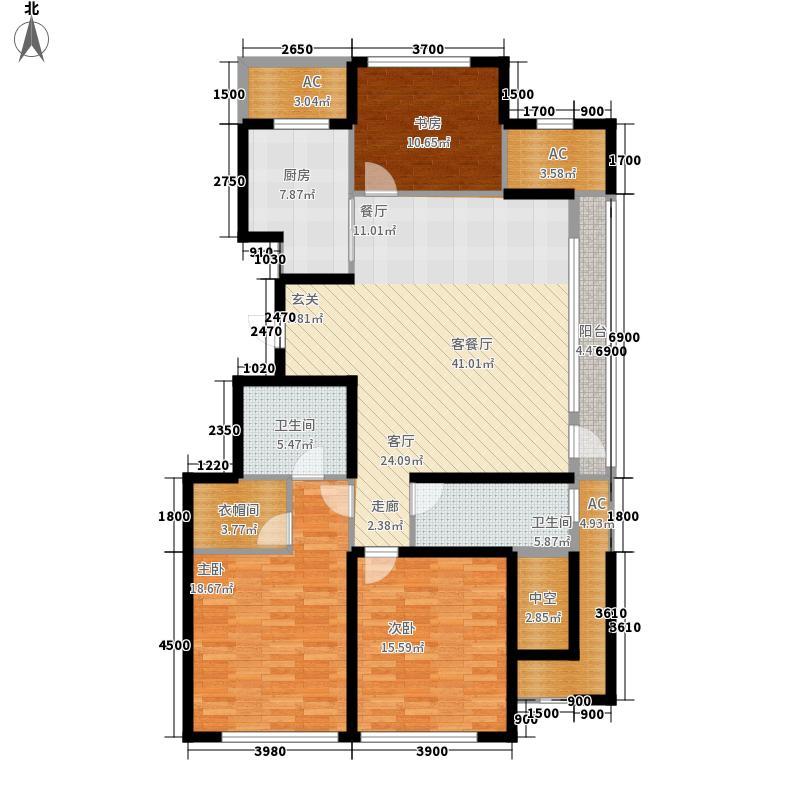 绿城沈阳全运村绿城沈阳全运村户型图c户型3室2厅2卫户型3室2厅2卫