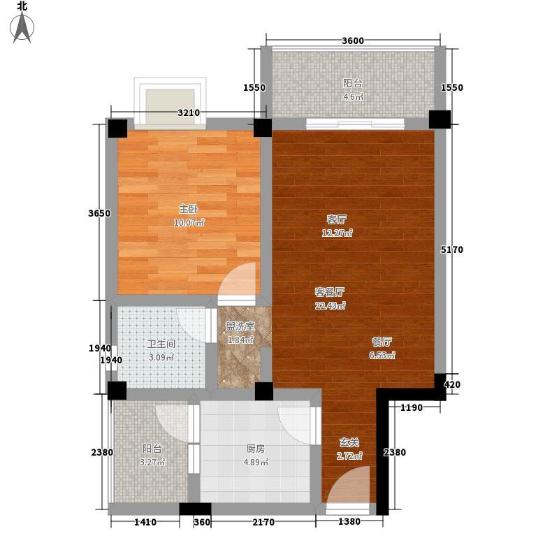 书香秀筑60.52㎡书香秀筑户型图A3(已售完)1室2厅1卫1厨户型1室2厅1卫1厨