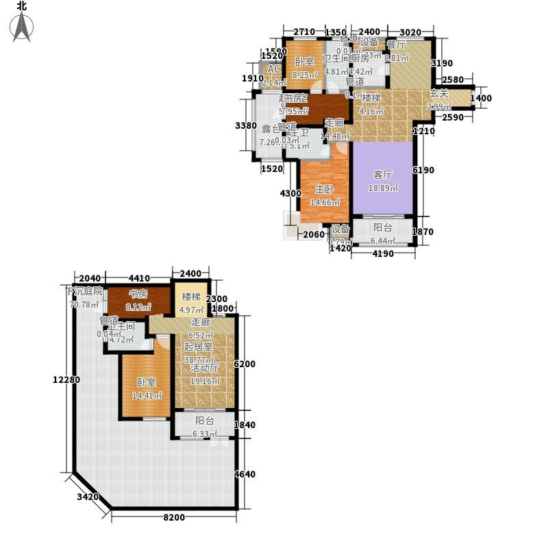 富立・秦皇半岛142.27㎡富立・秦皇半岛户型图D1-1户型3室2厅2卫户型3室2厅2卫