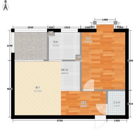 佳家SPORT1室0厅1卫1厨52.00㎡户型图