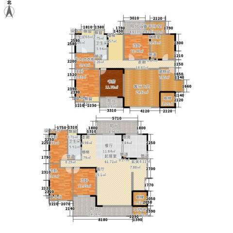 归心花园6室0厅3卫1厨308.00㎡户型图