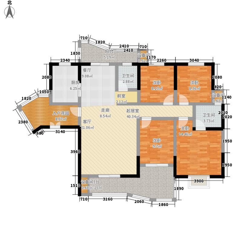 世景华庭151.00㎡面积15100m户型