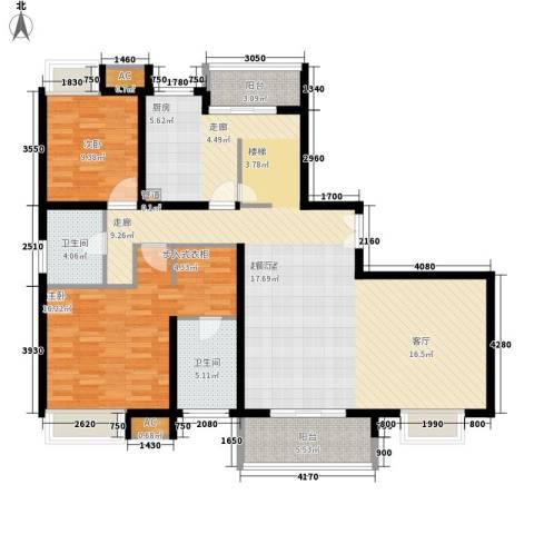 万源城乐斯生活会馆2室0厅2卫0厨247.00㎡户型图