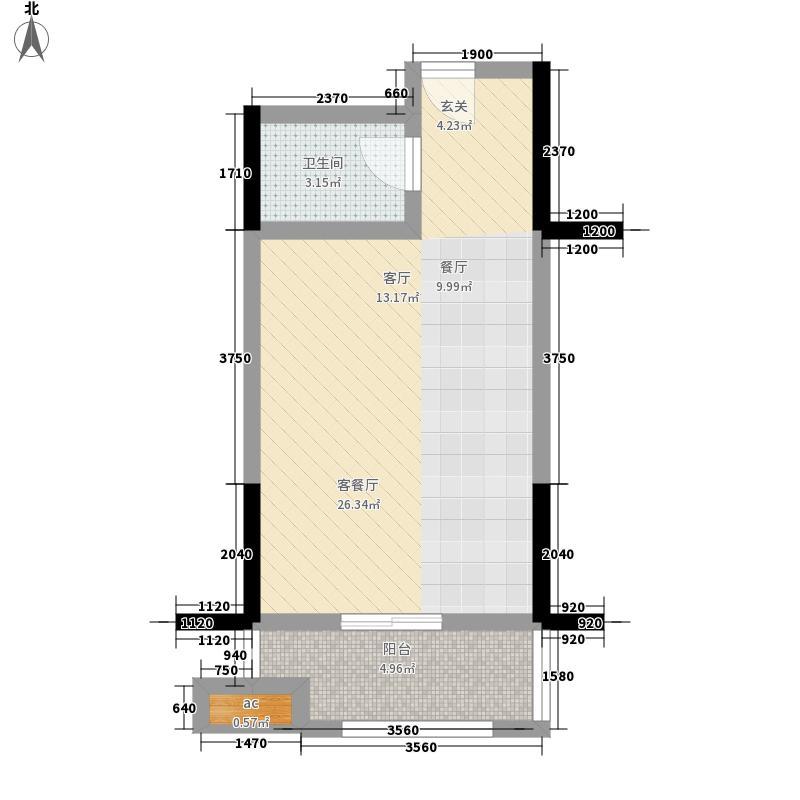 望湖花园一期单身公寓户型