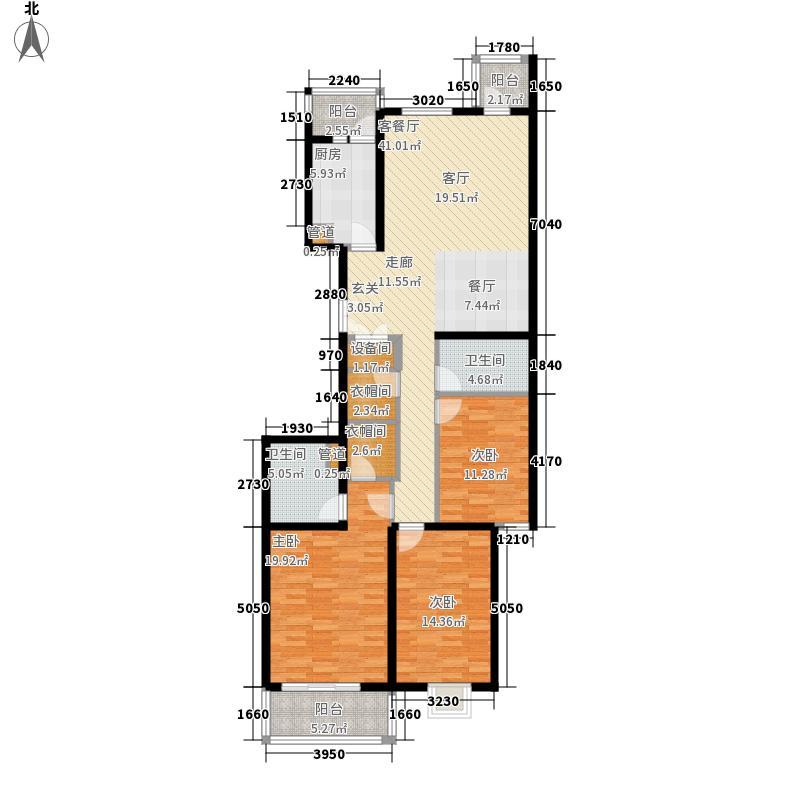 汾河景观360157.83㎡汾河景观360户型图3室2厅2卫户型10室