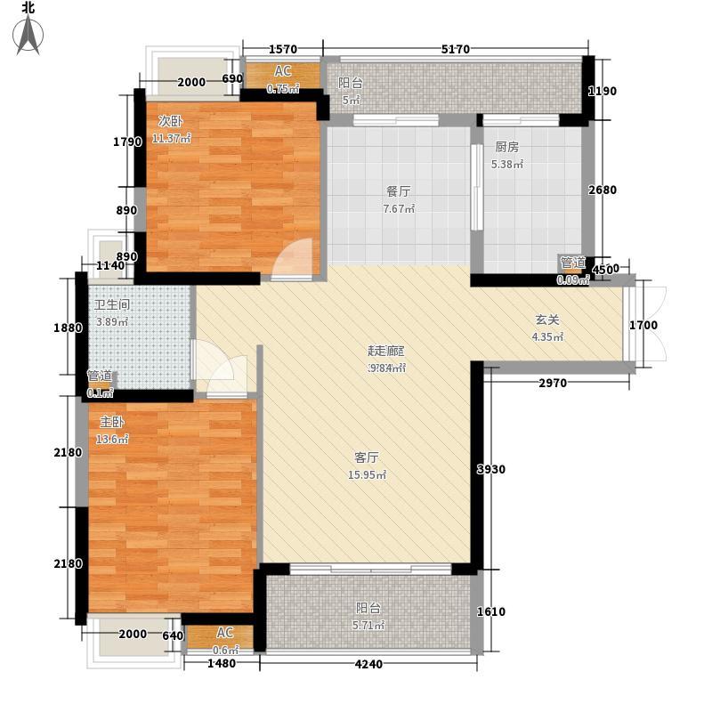 金众香颂里96.00㎡金众香颂里户型图9栋1#、2#/01、04户型2室2厅1卫1厨户型2室2厅1卫1厨