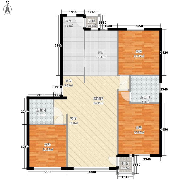 金马圣隆118.13㎡金马圣隆118.13㎡3室户型3室