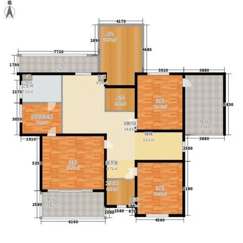 绿地公园壹品3室0厅2卫0厨312.00㎡户型图