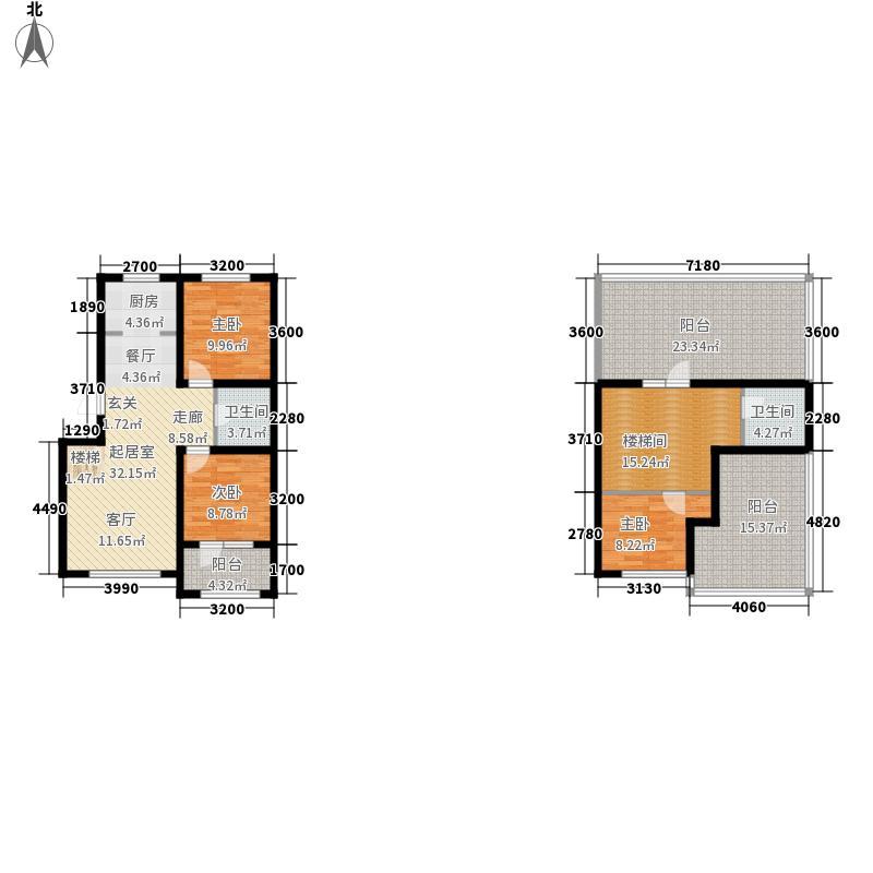 筑石红8.00㎡一期标准层户型